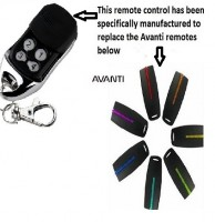 Avanti garage door remote control