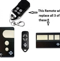 B&D garage door remote control