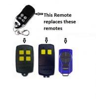 Avanti Aftermarket Remote Control Garage Door Restore