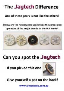 Jaytech gear comparison