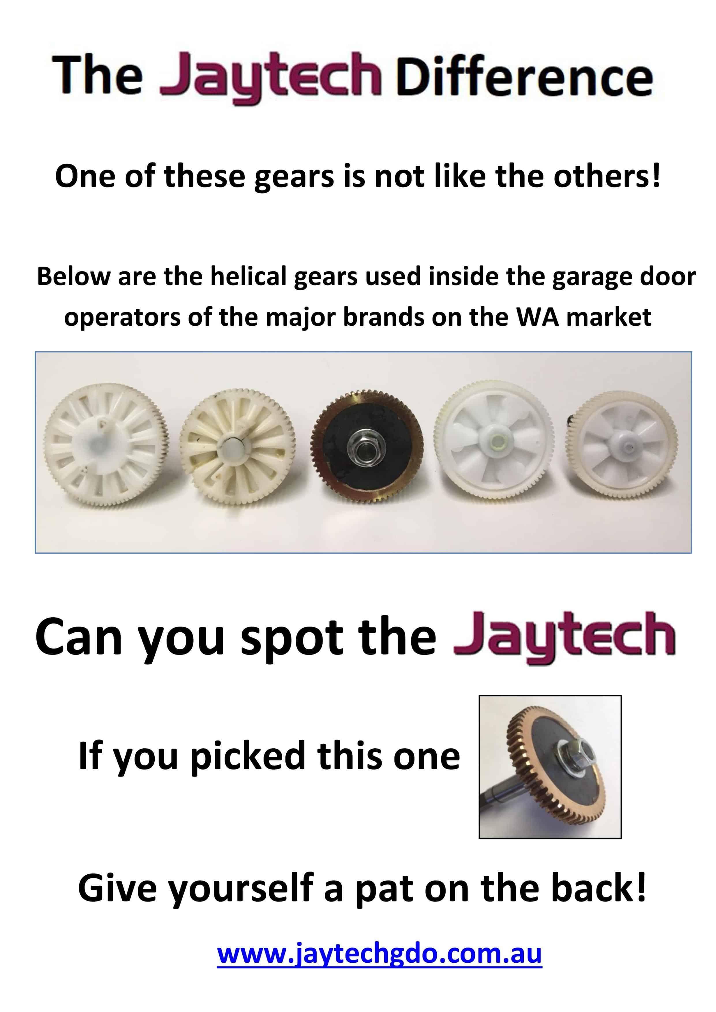 Jaytech 1200 Quiet Drive Opener Price Inc Fitting Full