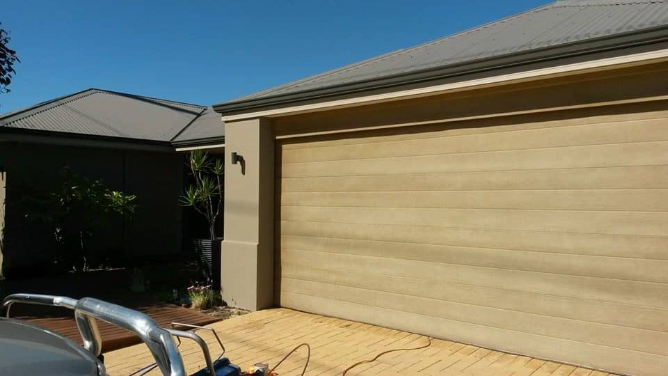 Garage Door Painting Perth