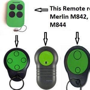 Merlin M842 remote