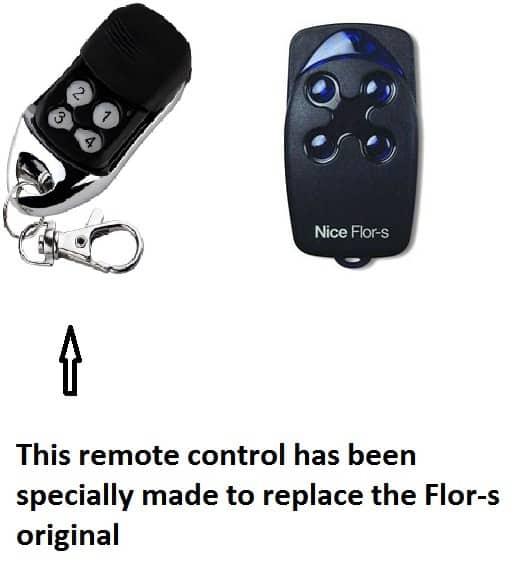 Nice Flor S Remote Control Replacement Garage Door Restore