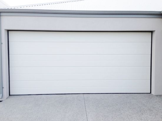 Surfmist garage door