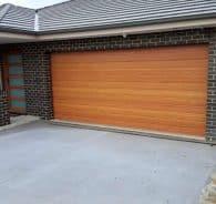 Decowood Kwila garage door